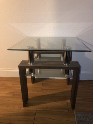 Two Sets or Glass End Tables for Sale in Anchorage, AK