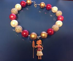 Moana kids designer made necklace for Sale in Saint Cloud, FL