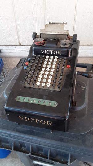 Vintage Victor adding machine for Sale in Evansville, IN