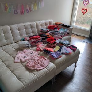 Lot of Baby Girls Clothes 6-12 Months for Sale in Marietta, GA