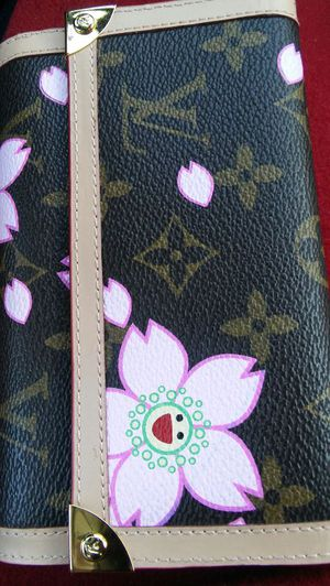 LOUIS VUITTON Cherry Blossom limited edition. WALLET(authentic, genuine, vintage) for Sale in Baltimore, MD