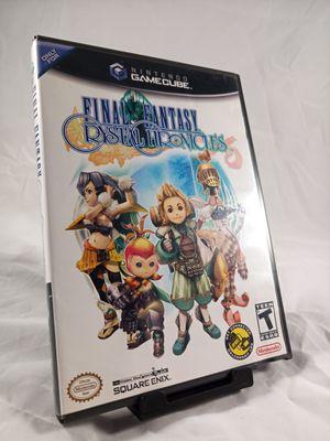 Final Fantasy Crystal Chronicles CIB for GameCube for Sale in Phoenix, AZ
