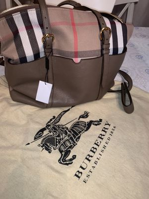 Burberry Authentic New Diaper Bag $1,000 orig price $2,500 for Sale in West Hollywood, CA