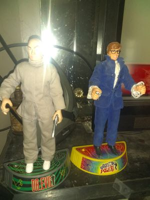 Austin Powers and Dr.Evil figures for Sale in Columbus, OH