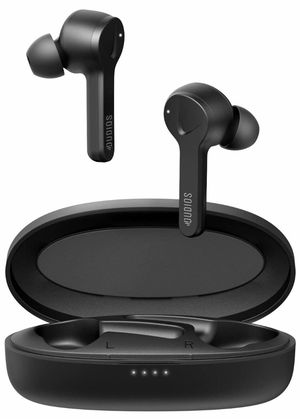 True Wireless Earbuds Bluetooth 5.0 Headphones, TWS HD Stereo in- Ear Headsets with mic(Rechargeable case 650mah, Clear Call, Easy-Pair, 24 hrs Playt for Sale in Quitman, TX