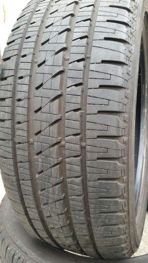 (4) 285 45 22 BRIDGESTONE DUELER TRUCK JEEP SUV CADILLAC TIRES for Sale in Tampa, FL