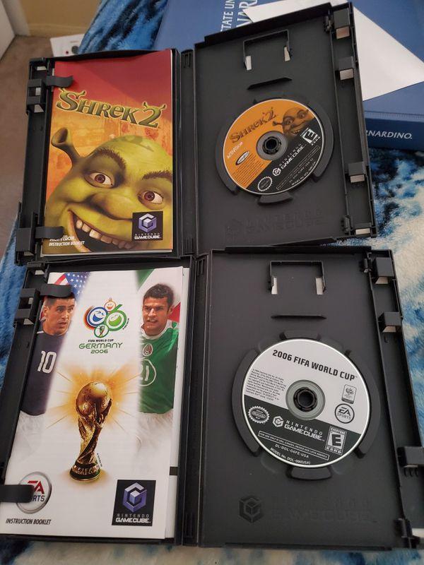 Shrek 2, MoH Frontline, MoH European Assault, Fifa world Cup 2006