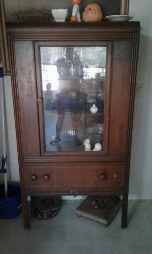 Wooden China Cabinet/ Hutch $85 obo. for Sale in Pegram, TN