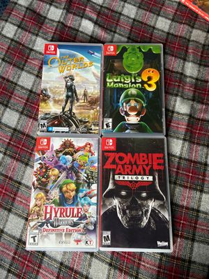 Nintendo switch games for Sale in Milwaukee, WI
