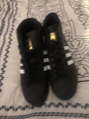 Black high top adidas for Sale in South Norfolk, VA