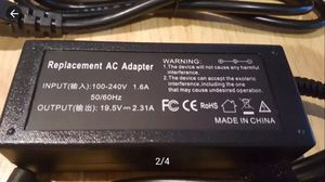 🆕️Notebook Charger for DELL Inspiron laptop19.5V 2.31A Power Supply Cord, works on HP laptop. Excellent condition. More available. for Sale in Long Beach, CA