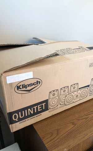 Klipsch home theater system for Sale in Woodstock, GA