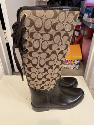 Coach rain boots for Sale in Rowland Heights, CA