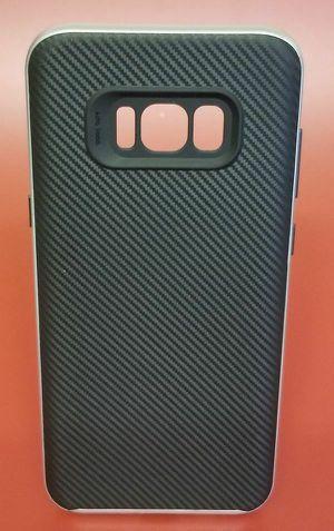 Samsung Galaxy S8 Plus Silver Carbon Fiber Case for Sale in San Diego, CA