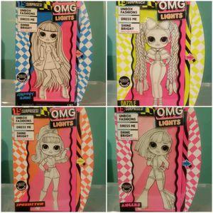 LOL Surprise O.M.G. Lights Dolls for Sale in Detroit, MI