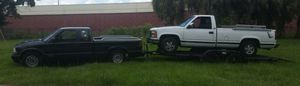 7' x 20' Flat bed trailer for hauling cars or trucks. for Sale in Tampa, FL