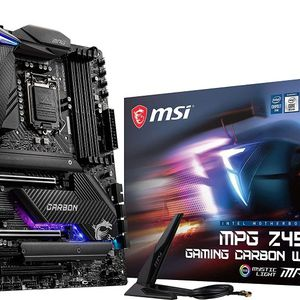 MSI MPG Z490 Gaming Carbon WiFi Gaming Motherboard (ATX, 10th Gen Intel Core) for Sale in Phoenix, AZ