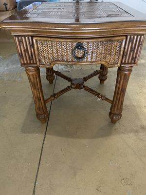 Two end tables matching for Sale in Riverview, FL