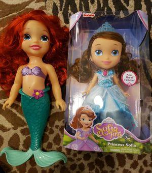 Disney Princess Dolls for Sale in South Bend, WA