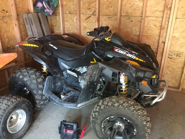 2012 Canam Renegade 800 cc Black / yellow