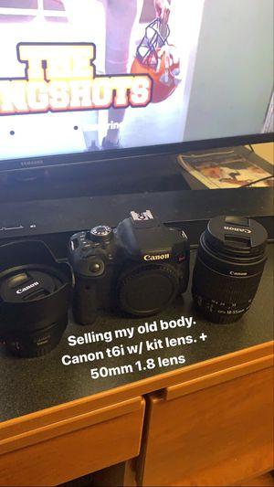 Canon t6i - Photography/Video Camera for Sale in Miami, FL