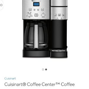 Cuisinart Coffee Center Coffee Maker/Single Serve Brewer in Stainless Steel for Sale in Turlock, CA