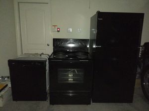 Whirlpool microwave, dishwasher, refrigerator & stove for Sale in DeSoto, TX