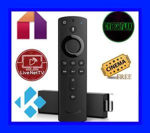 4k unlock fire tv stick loaded for Sale in Boynton Beach, FL