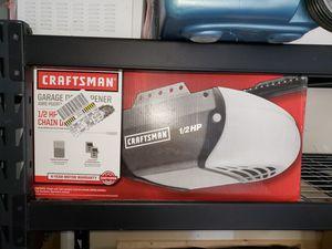 Craftsman Garage Door Opener-Model 53930-1/2-HP Chain-Drive for Sale in Miami, FL