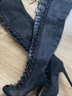 Lace Up Boots for Sale in Manassas,  VA