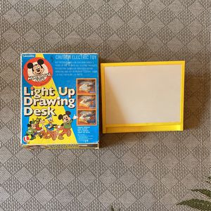 Mickey Mouse Club Light Up Drawing Desk VINTAGE for Sale in Ocoee, FL