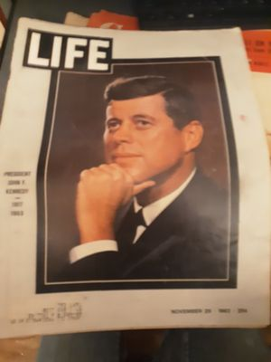 JFK collection magazine for Sale in Alexandria, LA