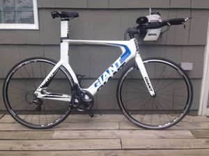 Giant Trinity Composite 2 triathlon bike, size XL for Sale in Portland, OR