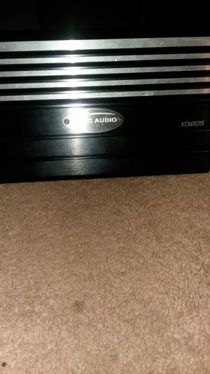 Arck audioo x0i805 5 chanel power amp with 18 feet rca with bass boost knob for Sale in Clarksburg, CA