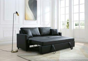 REBECCA BLACK SLEEPER SOFA for Sale in Houston,  TX