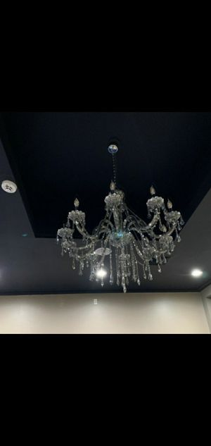 Smokey silver chandelier for Sale in Federal Way, WA