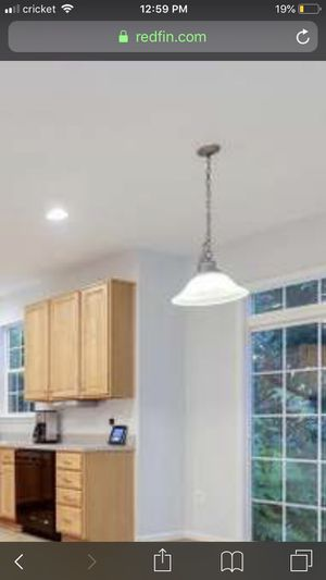Light fixture for over kitchen table for Sale in Baltimore, MD