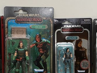 """Hasbro Cara Dune Carbonized Credit Collection Mandalorian Black Series 6"""" 3.75"""" Action Figure Toy Star Wars for Sale in Huntington Beach,  CA"""