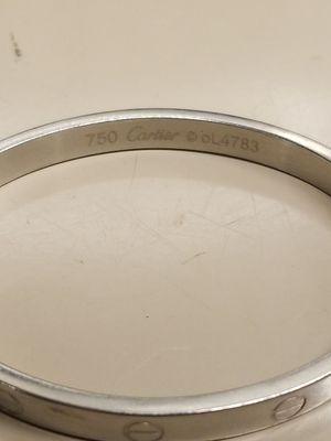 750 Cartier 18k white gold Love bracelet for Sale in Orlando, FL