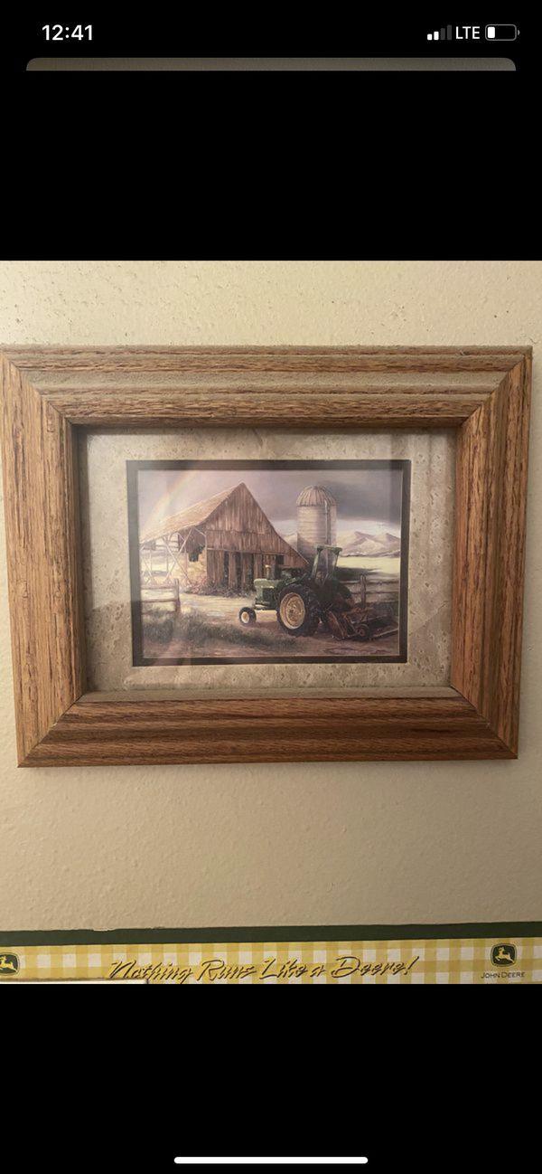 John Deere Tractor pictures decor farmhouse