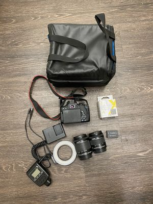 Canon EOS REBEL t6i for Sale in Fullerton, CA
