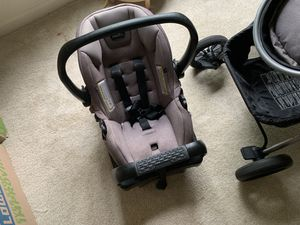 Stroller and car seat very clean for Sale in Acton, MA