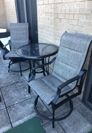 Patio High Top and Chairs for Sale in Arlington, VA