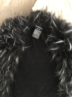 Bebe fur vest/cover up for Sale in Buena Park, CA