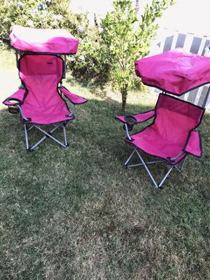 Kids folding outdoor chairs for Sale in Montclair, CA