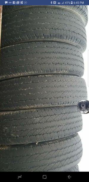 235 /85/16 ¤ used tires with about 50%tread for Sale in Edgar Springs, MO