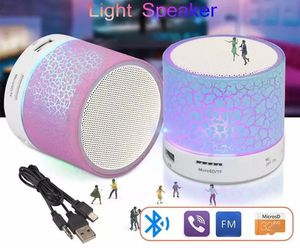 Mini light colorful led bluetooth rechargeable speaker. for Sale in Los Angeles, CA