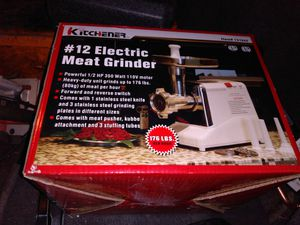Electric meat grinder for Sale in Oak Grove, MN