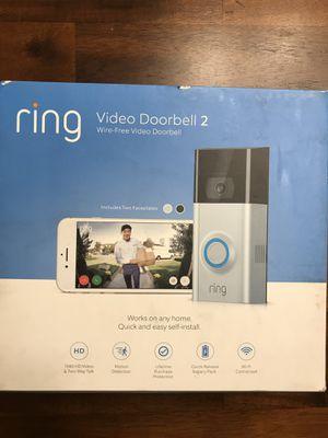 Ring v2 doorbell camera for Sale in Wenatchee, WA