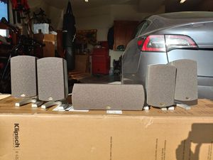 Klipsch Quintet 5.0 speakers for Sale in Hayward, CA